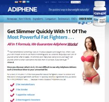 Adiphene website