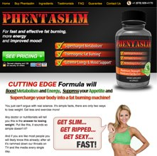 Phentaslim official website